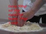 n°30.Tarte aux framboises-pâte à foncer-Tarte blanche.