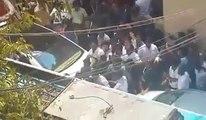 #SRK leaving after #Kochadaiiyaan audio launch (Sathyam Cinemas, Chennai) 09.03.2014