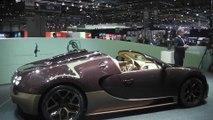 Bugatti Veyron Grand Sport Vitesse Rembrandt Reveal at Geneva Auto Show 2014