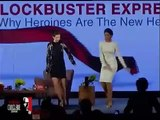 Kalki joins Deepika for Lungi dance at India Today Conclave 2014