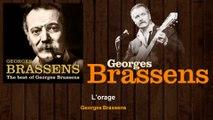 Georges Brassens - L'orage