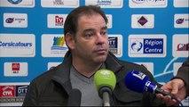 Conférence de presse Tours FC - Angers SCO (2-0) : Olivier PANTALONI (TOURS) - Stéphane MOULIN (SCO) - 2013/2014