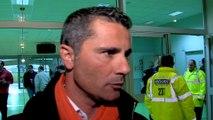 Réaction d'Olivier Saragaglia après GF38 - Pau