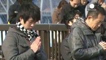 Le Japon commémore les 3 ans du tsunami et de l'accident nucléaire de Fukushima