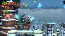 Donkey Kong Country: TF. Copas y copos 6-5 - Gameplay - 100% puzzles y letras