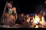 Zap télé: On peut bronzer auprès du feu... Geneviève de Fontenay a une envie pressante...