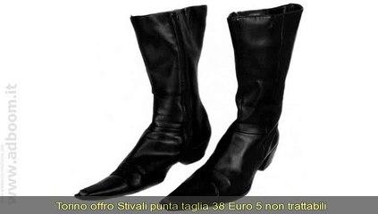 TORINO,    STIVALI PUNTA EURO 5