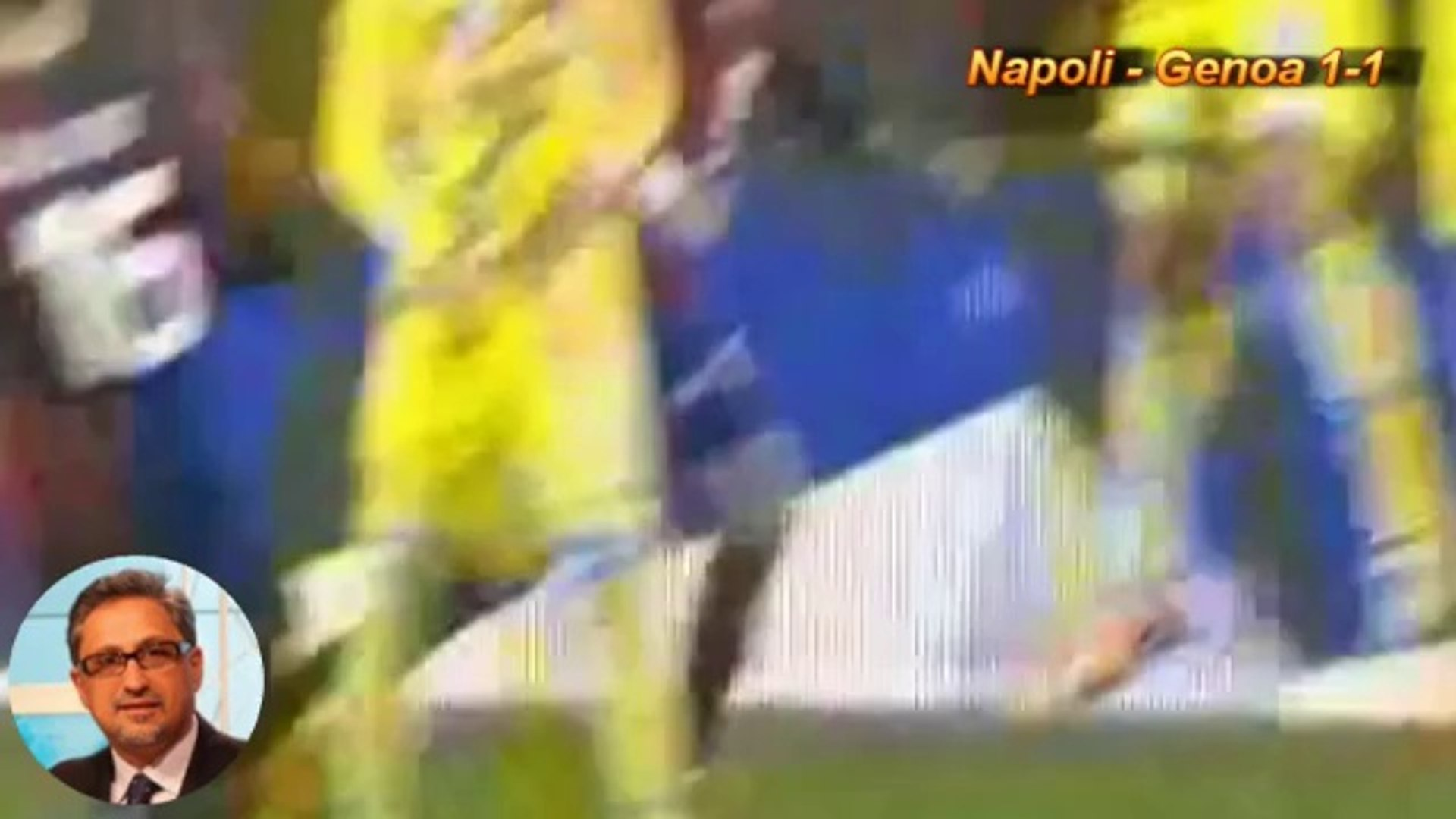 Napoli Genoa 1 1 Calvino Video Dailymotion