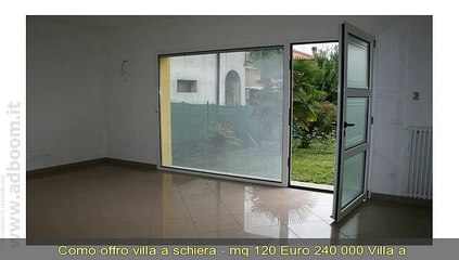 COMO, LENNO   VILLA A SCHIERA  - MQ 120 EURO 240.000