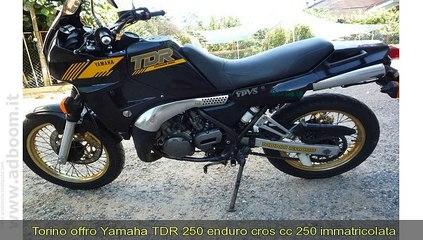 TORINO, DRUENTO   YAMAHA   TDR 250 CC 250 IMMATRICOLATA 1990