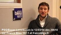 PSG / Bayer Leverkusen - France Bleu 107.1 : la minute de Pierre Ducrocq