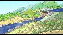 Film d'animation 3 : Bande dessinée l'énergie au fil du temps