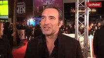 George Clooney, Jean Dujardin et Matt Damon en balade sur les Champs- Élysées - Monuments Men