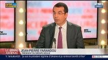 Jean-Pierre Farandou, président du groupe Keolis, dans Le Grand Journal - 11/03 1/4