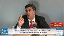 AGDE - 2014 - FRONT DE GAUCHE, UNE VRAIE GAUCHE POUR AGDE, RICHARD REY par Didier DENESTEBE