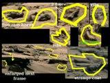 4 Mars NASA fraud Military sign WRITING vehicles AUTO photos rover curiosity anomalies Feb 2014