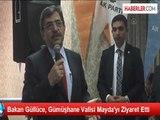 Bakan Güllüce, Gümüşhane Valisi Mayda'yı Ziyaret Etti
