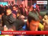 Fenerbahçe İstanbul'a geldi