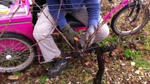 Tailler la vigne avec le Trail2500