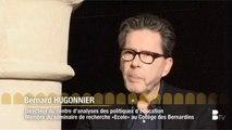 """Bernard Hugonnier - Colloque """"Pour une école plus efficace et plus équitable"""" au Collège des Bernardins"""