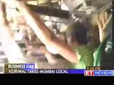 Chaos during Kejriwals Mumbai visit