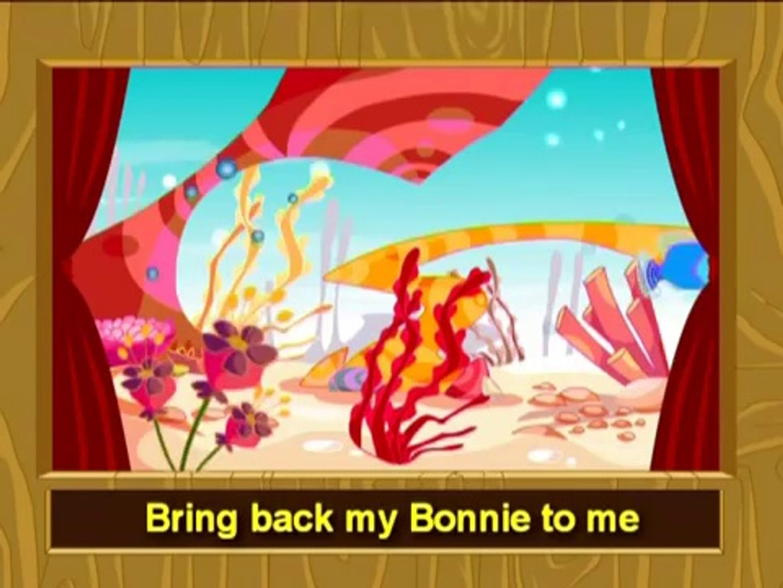 My Bonnie Lies Over The Ocean English