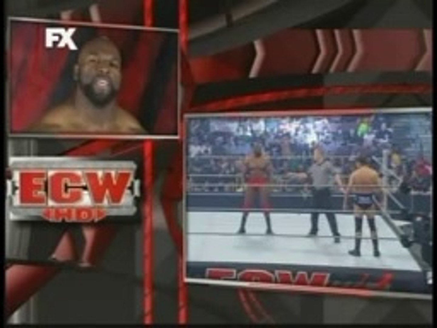ECW 2009 Raw Rebound,Ezekiel Jackson vs Jack Meridol,the hurricane Helms Salvo a Una Productora,Comm