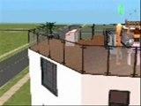 Sims FLE: pays, maison et amies 1