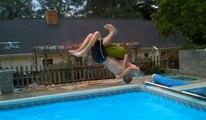 Bearhug Diving Board Backflip - Bear Hug Back Flip