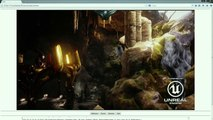 Unreal Engine 4 - Browser Web Running Dimostration (Firefox)