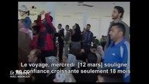 Syrie : Bachar Al-Assad visite des réfugiés