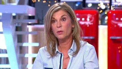 Michèle Laroque: malaise désamorcé - C à vous - 12/03/2014