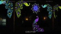 Best Lights & Building Illumination - 3d projection mapping. Creative Event Decor - Pakistan