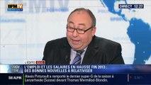 """L'Édito éco d'Emmanuel Lechypre: L'emploi et les salaires en hausse fin 2013: """"C'est une anomalie !"""" - 13/03"""