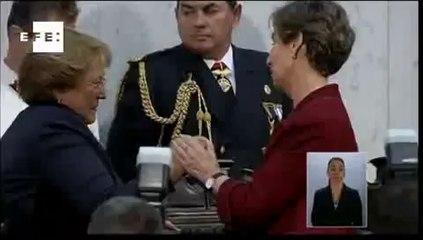Michelle Bachelet é empossada presidente do Chile