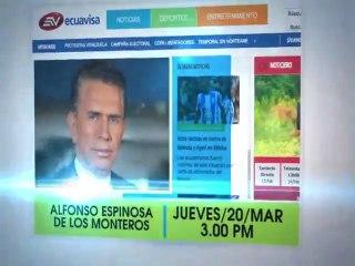 VideoChat:  Don Alfonso Espinosa - Jueves  20 Marzo 2013