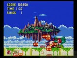 Sonic The Hedgehog 3 & Knuckles as Knuckles Sky Sanctuary Zone + Ending