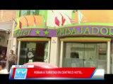Chiclayo: Roban a turistas en centrico hotel 13 03 14