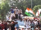 Aam Aadmi Party:Bawana to Parliament Street