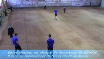 Premier tour, Finales du Championnat de France des Clubs Jeunes, Sport Boules, Sennecey-le-Grand 2014