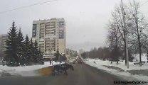 Accident en calèche... les russes sont les meilleurs pour ça!