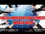 Canadian Immigration: Services By Immigration Overseas