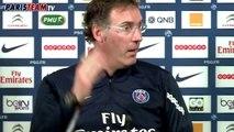 Laurent Blanc, St Etienne et le week end de L1