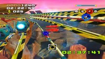 Sonic Heroes - Team Sonic - Étape 07 : Rail Canyon - Mission Extra
