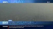 BFMTV Replay: Paris: les pics de pollution ont été à nouveau atteints - 14/03
