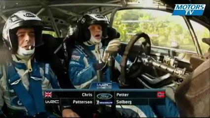 2012 WRC Rallye de France - Petter Solberg Crash