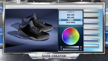 "NBA 2K14 Shoe Creator - ""Jordan 3 Sports Blue 3s"" + ON FEET (Jordan Sports Blue 3s)"