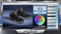 "NBA 2K14 Shoe Creator - ""Jordan Black Cement 3s"" + ON FEET (Jordan 3 Black Cements)"