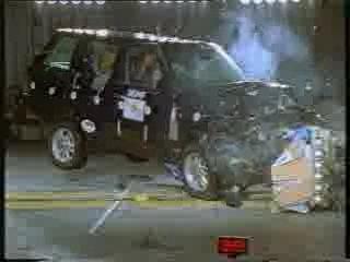 crashtest Land Rover Range Rover