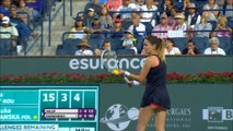 WTA Indian Wells: Radwanska bt. Halep (6-3 6-4)